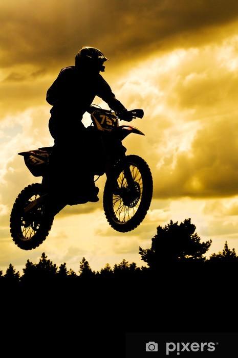 Fototapeta zmywalna Motocross - Sporty ekstremalne