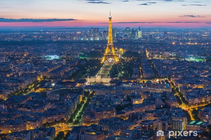 Vinylová fototapeta Eiffelova věž v Paříži, Francie - Vinylová fototapeta