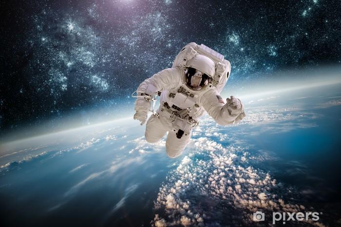 Fototapeta winylowa Astronaut zewnętrznych elementów spac tego zdjęcia dostarczone przez NASA. - Przestrzeń kosmiczna