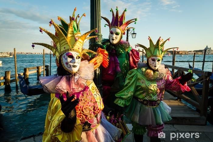Vinylová fototapeta Maska, karneval v Benátkách - Vinylová fototapeta