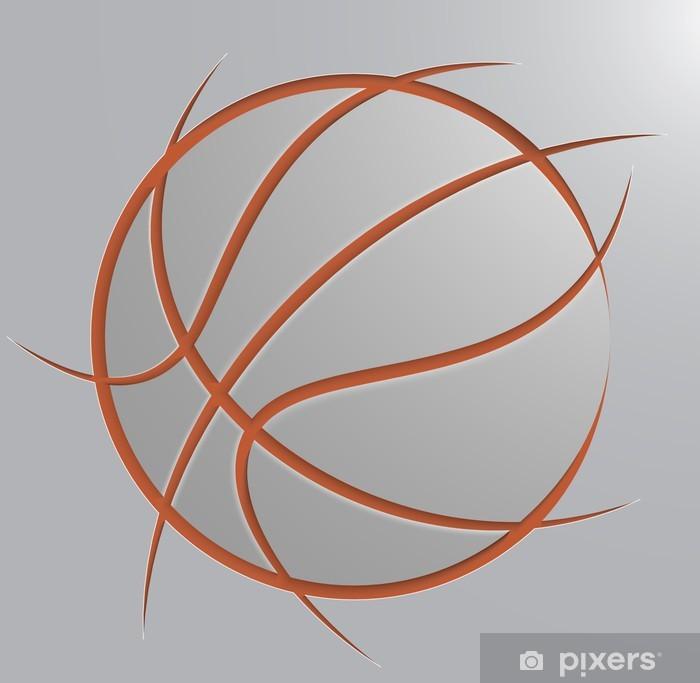 Plakát Basketbalový míč - Sportovní potřeby