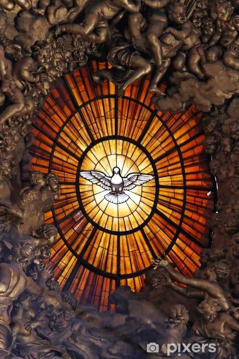 Nálepka Pixerstick Duch svatý - Veřejné budovy