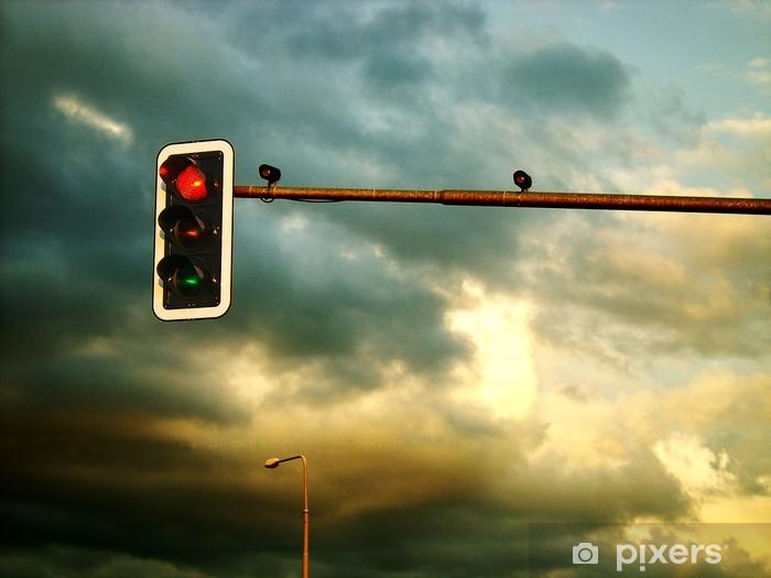 Naklejka Pixerstick Burza nadchodzi - Niebo
