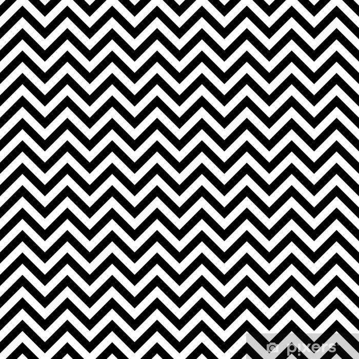 Sticker Pixerstick Zigzag, illustration parfaite - Arrière plans