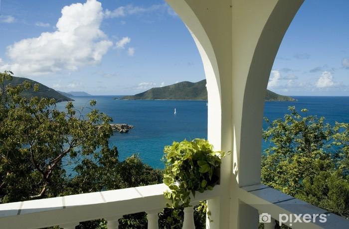 Papier peint vinyle Îles Vierges britanniques - Vacances