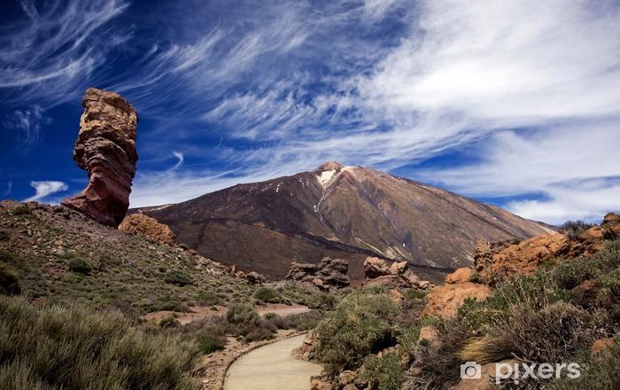 Naklejka Pixerstick Las Canadas del Teide, Teneryfa Los Roques Wyspy Kanaryjskie - Wakacje