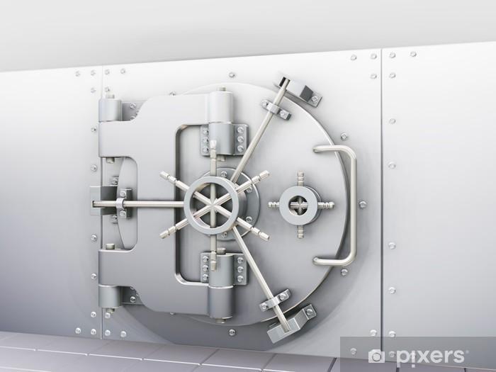 Nálepka Pixerstick Bank vault - Život