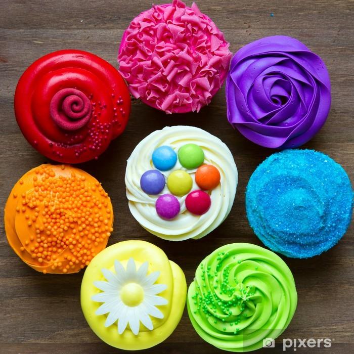Fototapeta winylowa Kolorowe cupcakes - Tematy