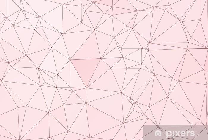 Papier Peint Pastel Geometrique Polygone Pixers Nous Vivons