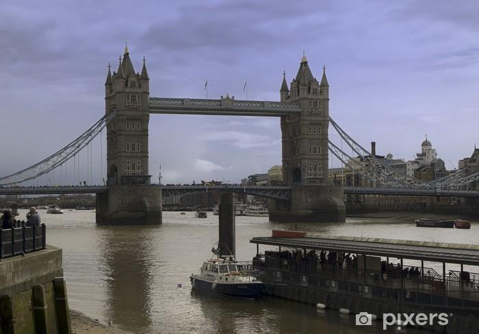 Naklejka Pixerstick London Bridge panoramique - Tematy