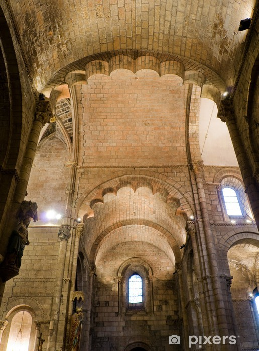 Fototapeta winylowa Trancept Real Basilica de San Isidoro. Leon. Hiszpania - Budynki użyteczności publicznej