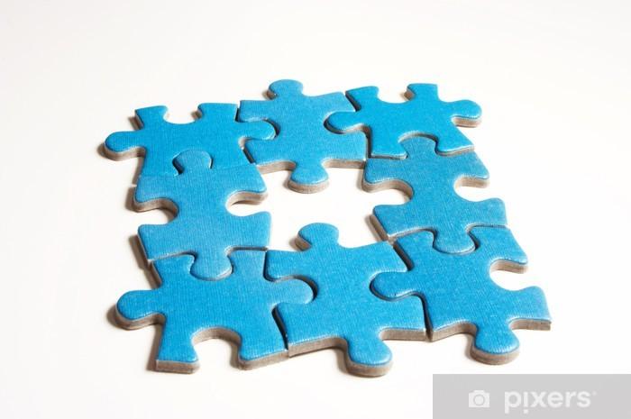 Fototapeta winylowa Puzzle - Koncepcje biznesowe