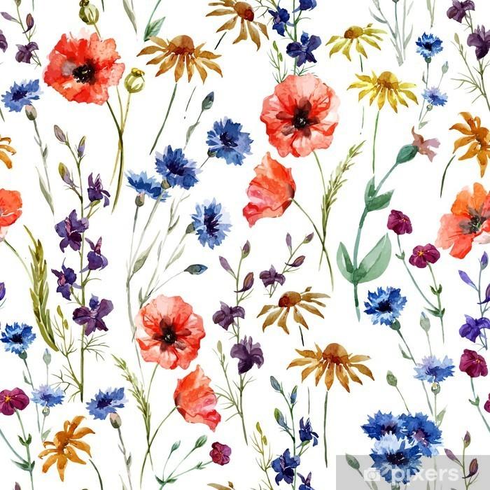 Naklejka Pixerstick Kwiaty - Technologia