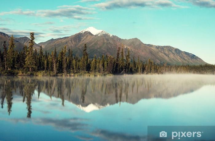 Papier peint vinyle Lac de l'Alaska - Thèmes