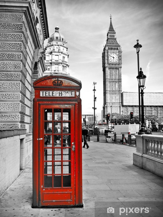 London impression Pixerstick Sticker -
