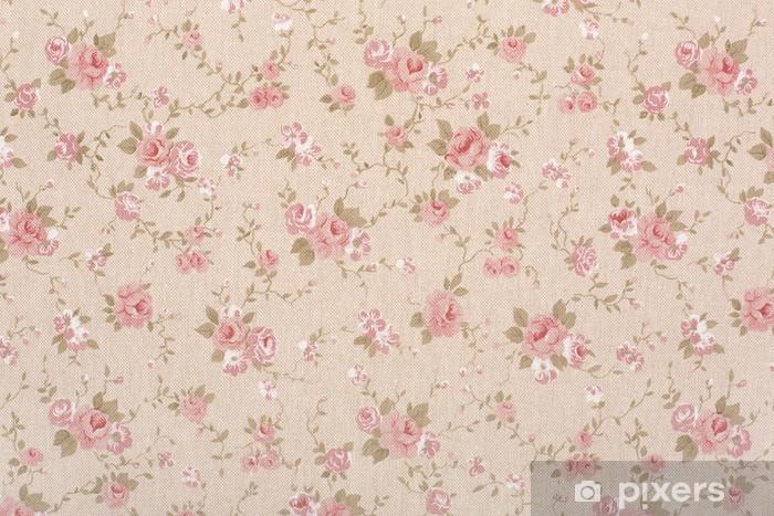 Papier peint Rose motif de tapisserie floral, texture romantique