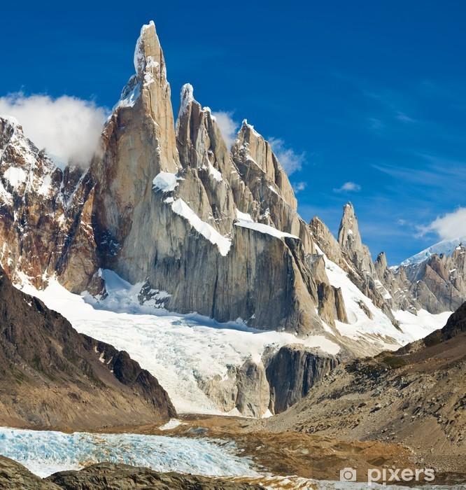 Sticker Cerro Torre, Parc National Los Glaciares, Patagonie, Argentine •  Pixers® - Nous vivons pour changer