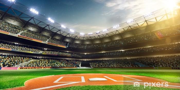 Fototapeta winylowa Profesjonalne baseball Grand Arena w słońcu - iStaging