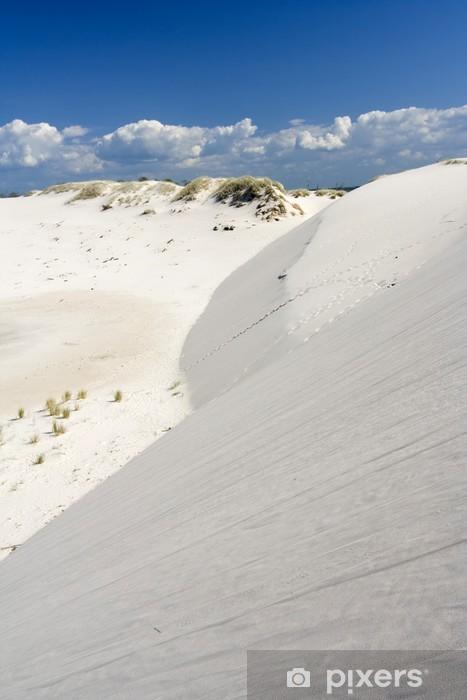 Sticker Pixerstick Le désert Leba - Vacances