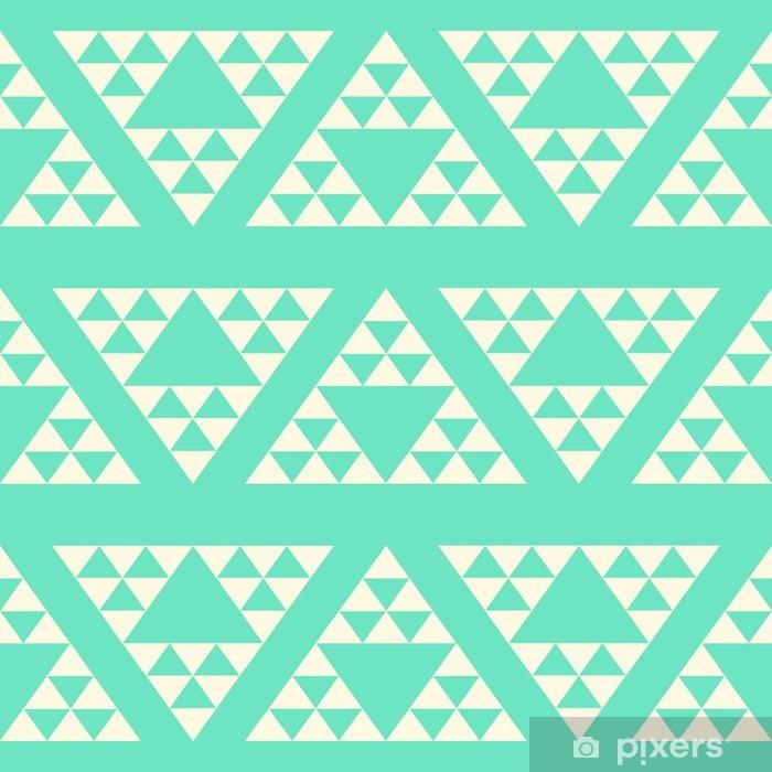 Plakát Velký trojúhelník abstraktní bezproblémové vzor, geometrické pozadí, - Témata