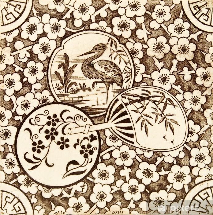 Papier Peint Oriental Style Carrelage Pixers Nous Vivons Pour Changer