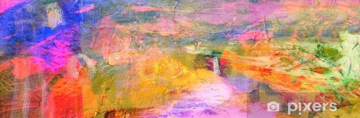 Fotomural Estándar Abstracto en lienzo - Hobbies y entretenimiento