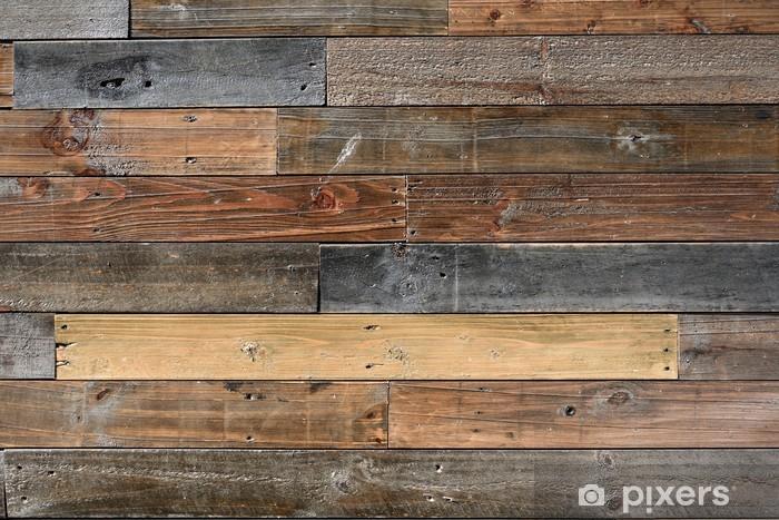 Papier peint vinyle Old texturée en bois d'époque - Textures