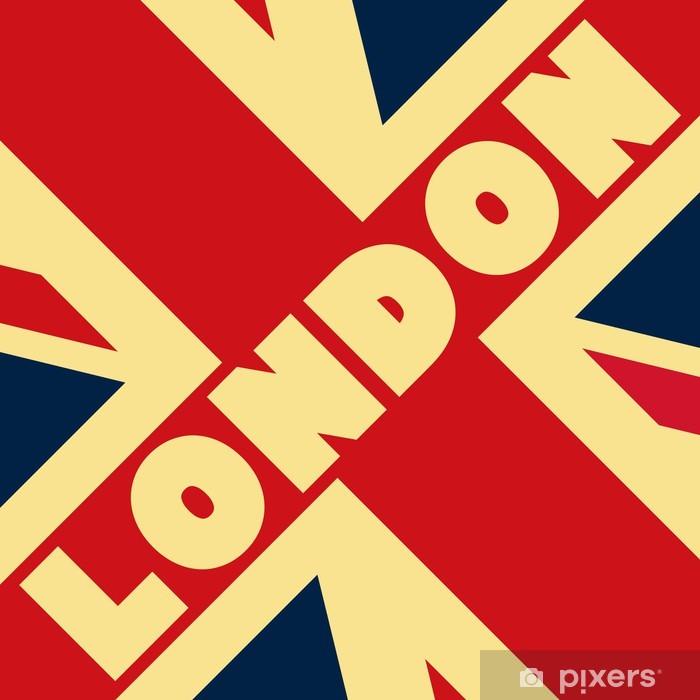 Fototapeta winylowa Flag london - Miasta europejskie