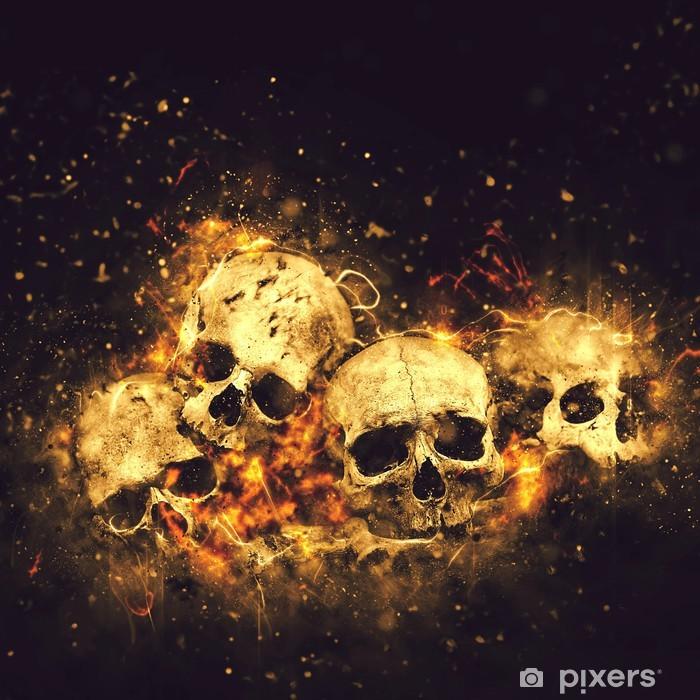 Skulls and Bones Poster - International Celebrations