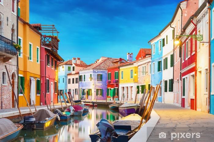 Fotomural Estándar Burano Venecia Italia - Ciudades europeas