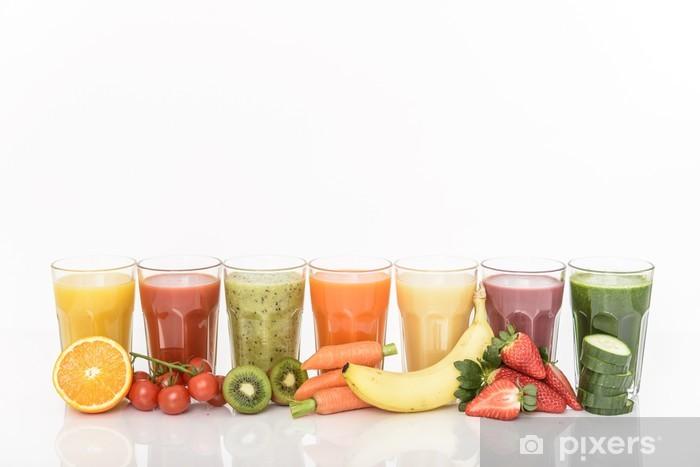 Naklejka Pixerstick Zdrowe smoothie - Posiłki