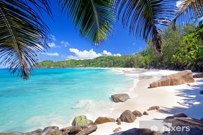 Afwasbaar Fotobehang Anse Takamaka - Seychellen - Vakantie