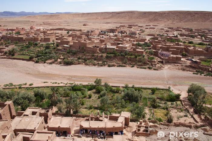Nálepka Pixerstick Oued - Afrika