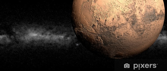Naklejka Pixerstick Marzec - Planety
