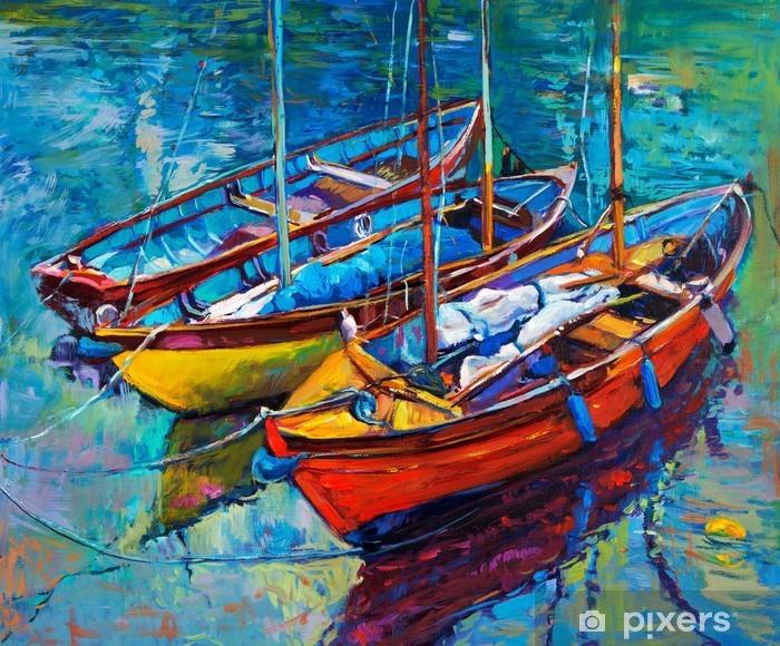 Vinilo Pixerstick Boats - Hobbies y entretenimiento