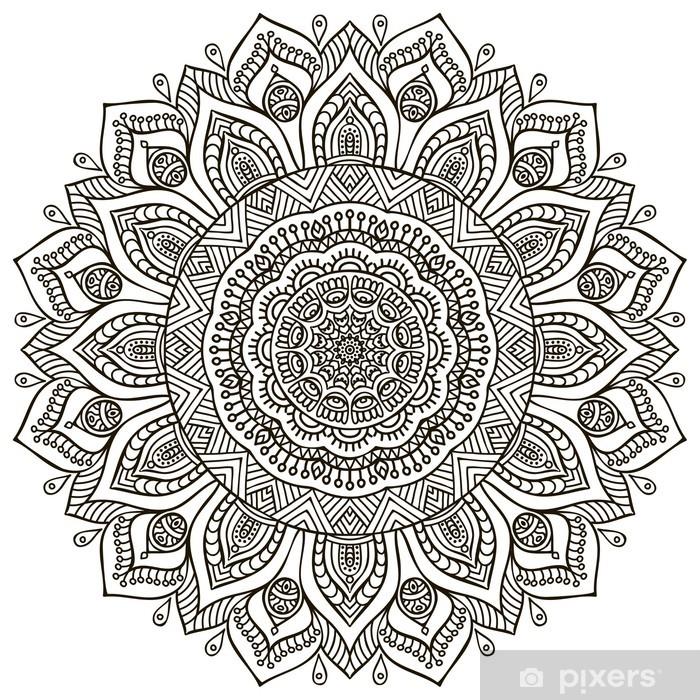 Fotomural Autoadhesivo Mandala - Señales y símbolos