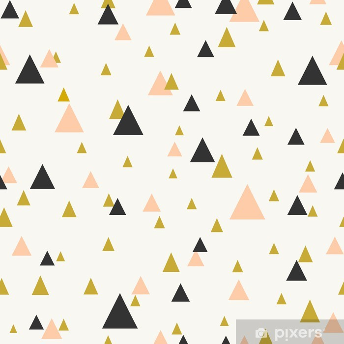 Abstract Geometric Seamless Pattern Poster - Themes