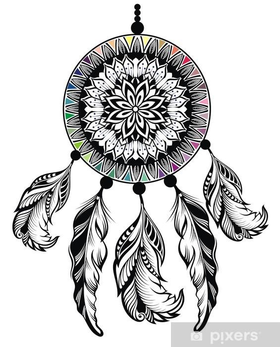 Papier peint vinyle Dream catcher décoratif - Art et création