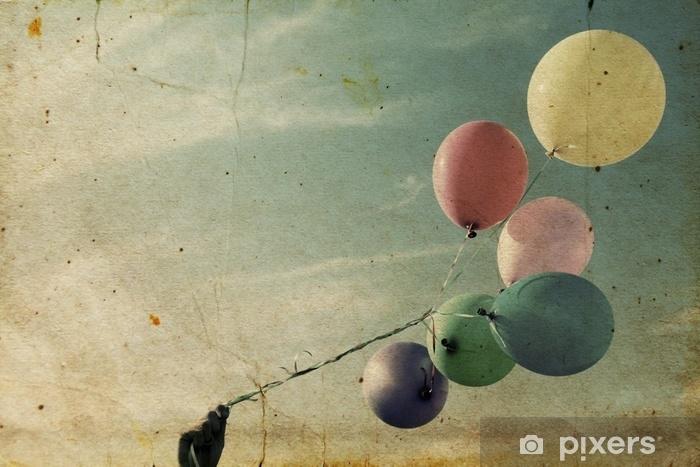 Fototapeta winylowa Bliska kolorowych balonów - Zasoby graficzne