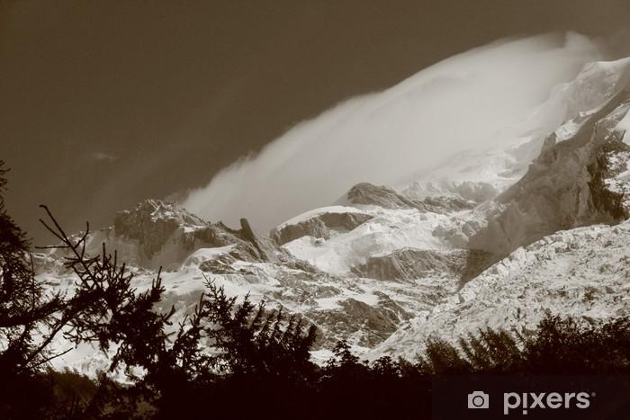 Sticker Pixerstick Mont Blanc - Montagne