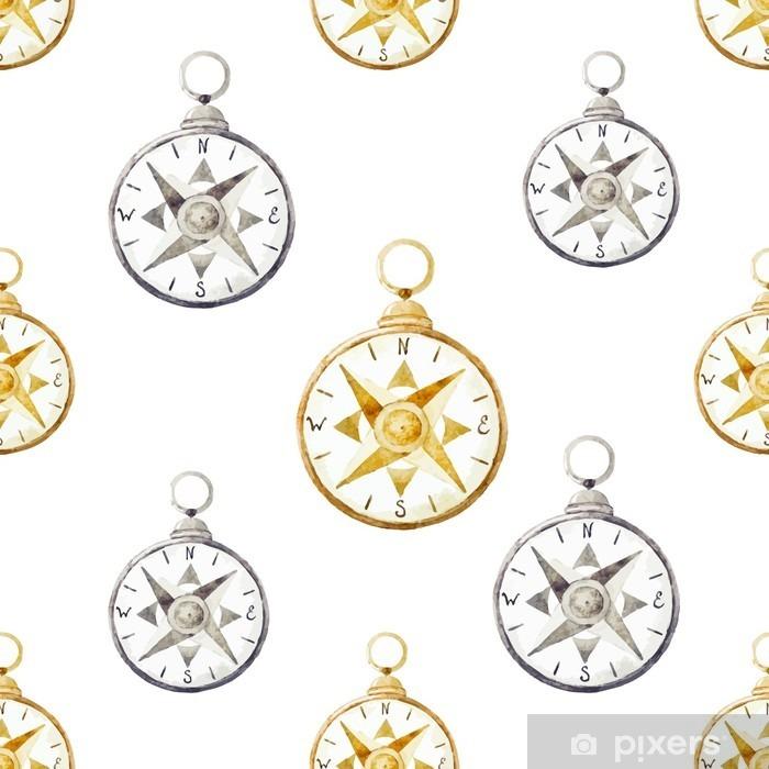 Plakat Kompas wzór - Zasoby graficzne