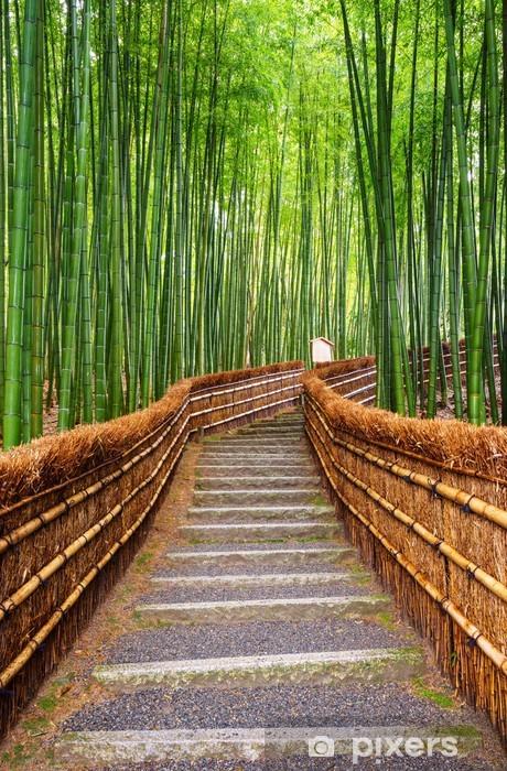 Aufkleber Pfad Zum Bambuswald Arashiyama Kyoto Japan Pixers
