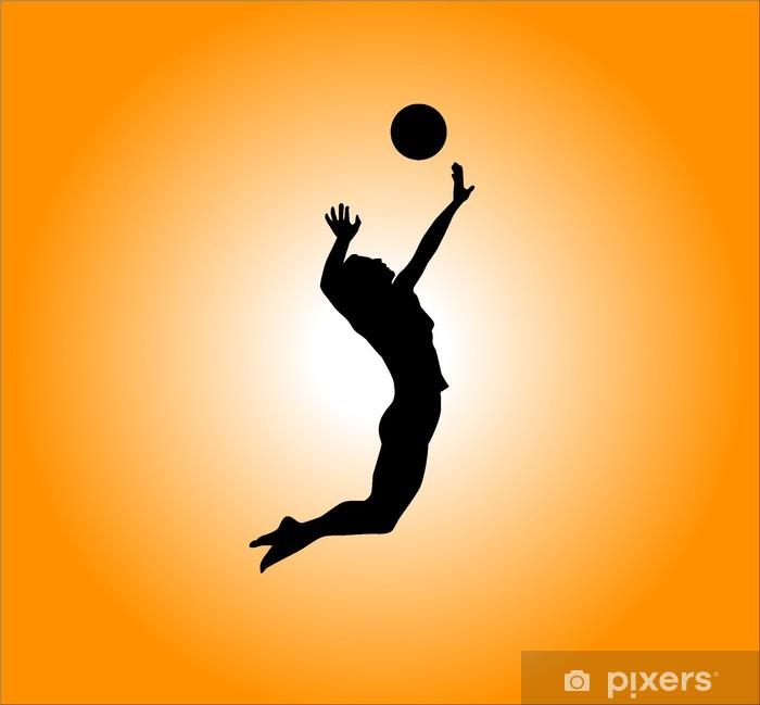 Papier Peint Autocollant Volleyball - Thèmes