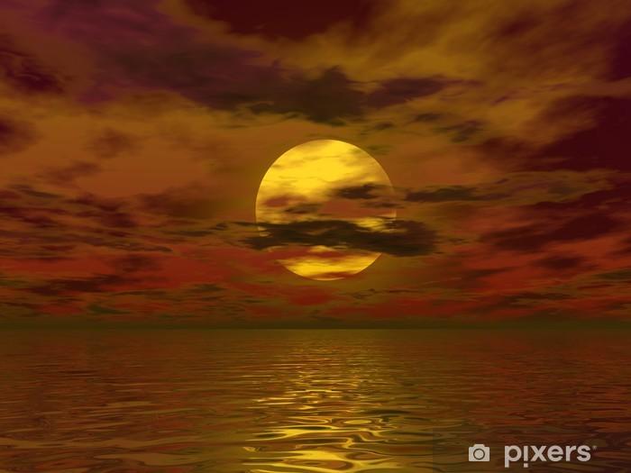 Fototapeta winylowa Zachmurzenie słońca słońca - Wakacje