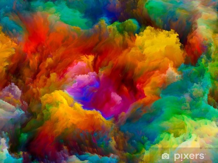 Vinyl Fotobehang Exploderende Kleur - Wonderen der Natuur
