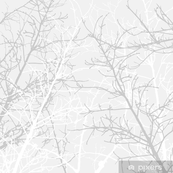 Branches texture pattern. Soft background. Pixerstick Sticker - Background & Texture