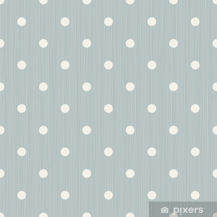 Seamless background with lines and polka dots Vinyl Wall Mural - Graphic Resources