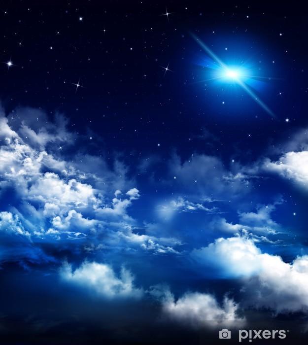 Papier peint vinyle Belle arrière-plan, ciel nocturne - Ciel