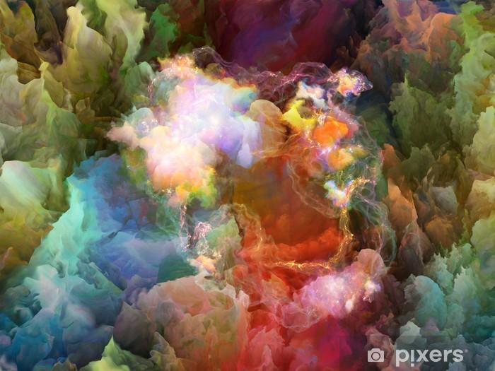 Vinyl Fotobehang Realiteit van Unreal - Wonderen der Natuur