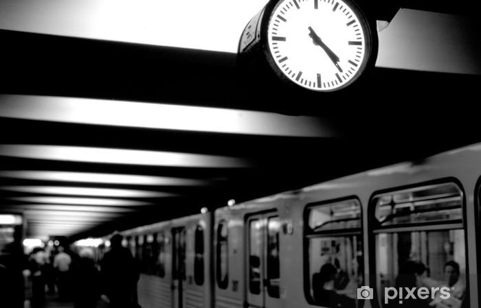 berlin,metro Vinyl Wall Mural - Berlin